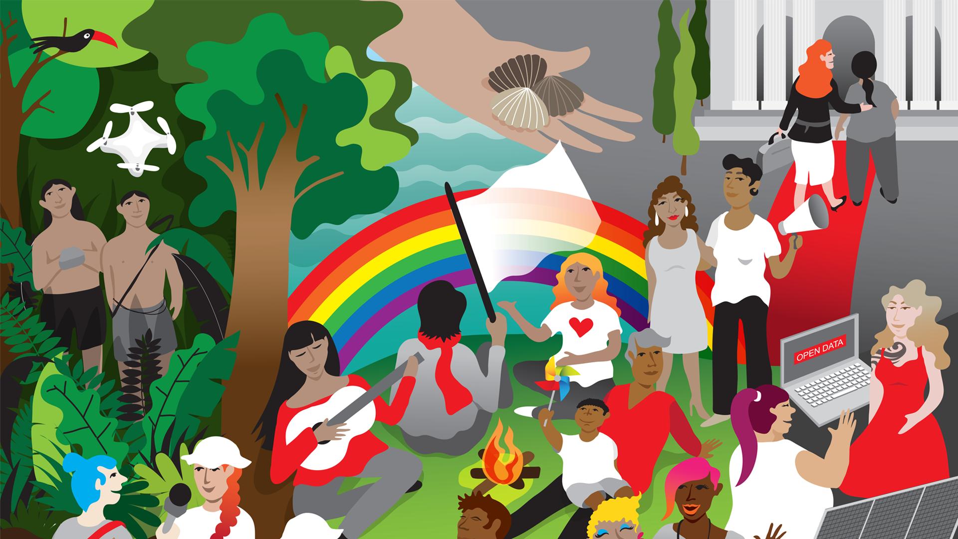 Hivos: 50 años por un mundo más libre, justo y armonioso