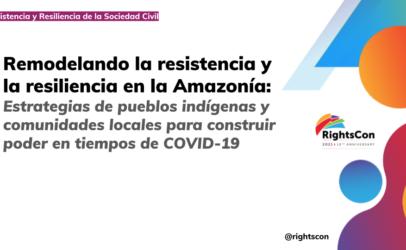 Construir poder en la Amazonía en tiempos de COVID-19