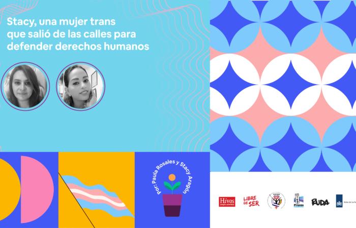 Stacy, una mujer trans que salió de las calles para defender derechos humanos